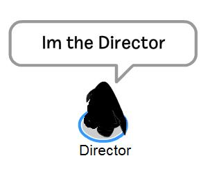 I'm the Director
