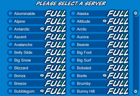 all full servers