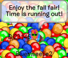The Fall Fair is Over SOON! Keep playing ;)